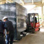 Industriële transport en kraanverhuur