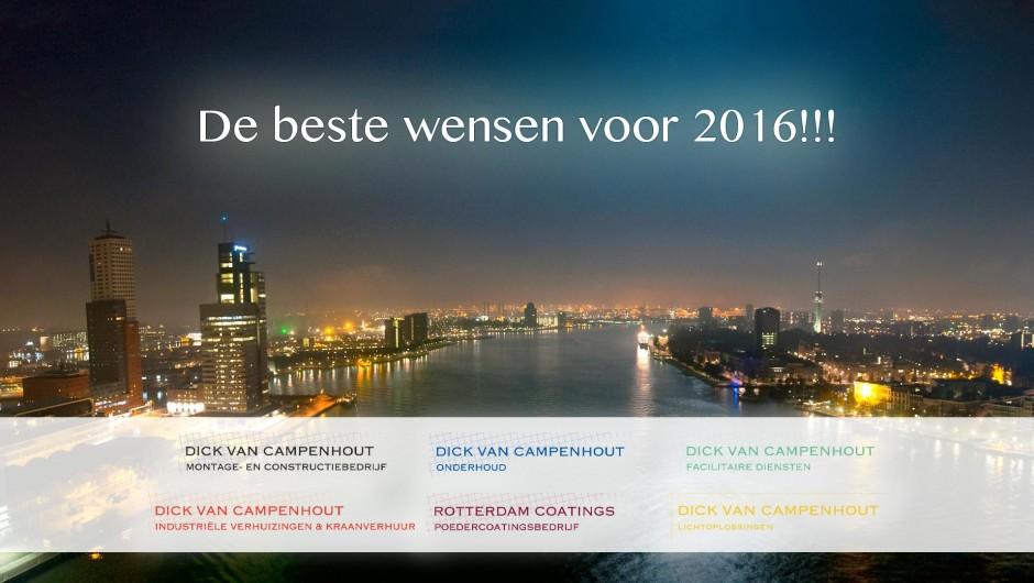 Allereerst de beste wensen voor 2016!!!