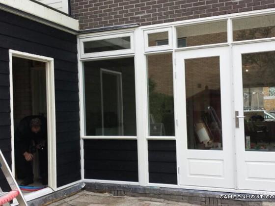 Renovatie raam en deurkozijnen