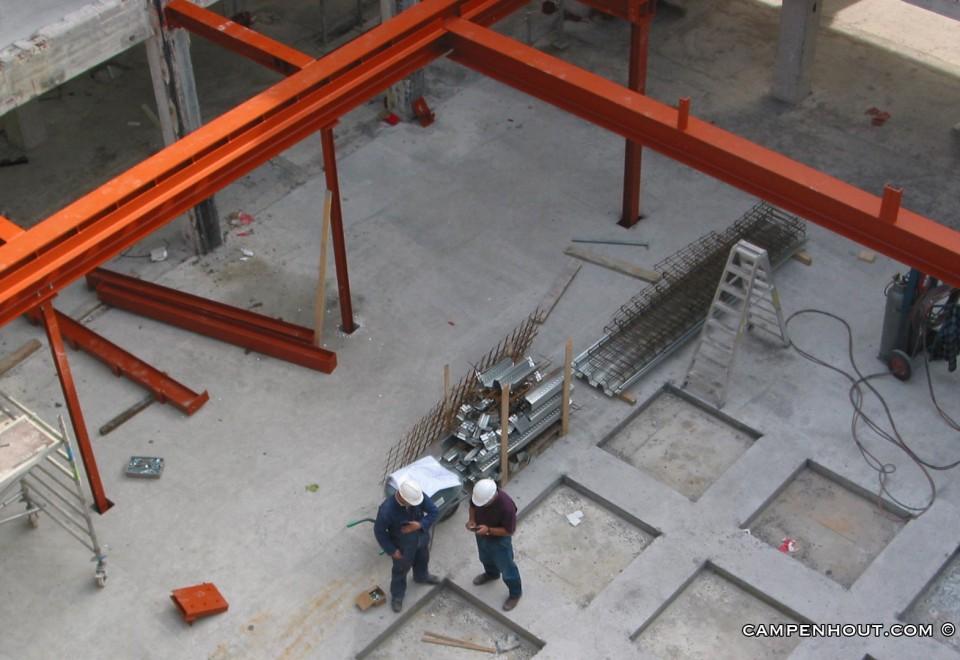 Verdieping vloer constructie Rotterdam