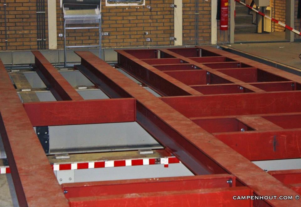 Aanleg stalen vloerconstructie Rotterdam