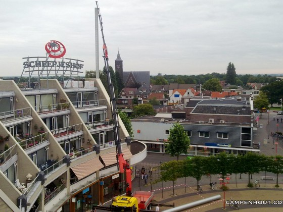 Vernieuwing ventilatiekanaal Veenendaal