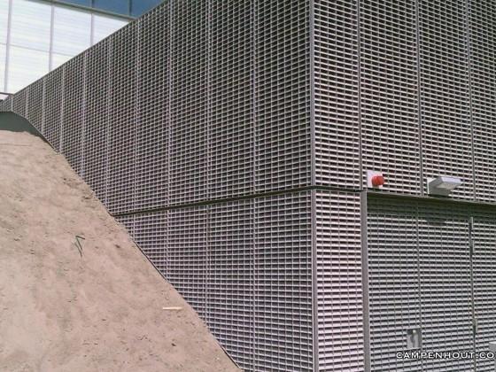Aluminium omkasting transformatorhuis