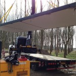 Dak lichten betonnen unit