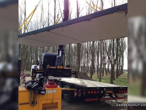Dak lichten betonnen unit <br /> <br />