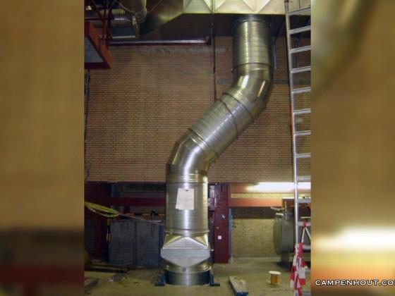 Ventilatiekanaal fabriek <br /><br />
